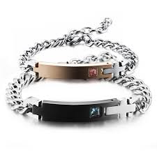 his and hers engraved bracelets wholesale stainless steel his and hers engraved bracelets jc