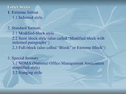 Semi Block Letter Format Business Letter Business Communication And Report Writing Boa