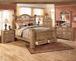 natural wood bedroom furniture solid set modern american style 7