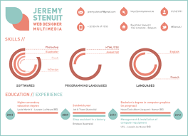 10 excellent examples of creative resumes u2013 the chic type blog
