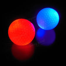 light up golf balls electronic light up flashing led golf ball night light l for