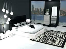 chambre noir et blanc design chambre noir et blanc design deco salon noir blanc argente dacco et