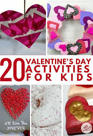 20 valentine u0027s day activities for kids see mom click