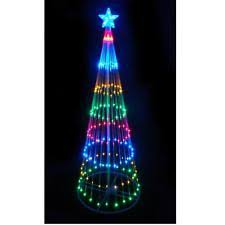 6 led lighted outdoor spiral rope light tree yard