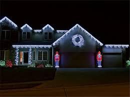 shop 20pcs ac110v icicle lights white 96leds 4m colorful us