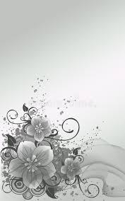 silver flowers silver flowers stock illustration illustration of green 17481636