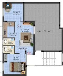 Tenement Floor Plan by Yogalakshmi Construction Puzhuthivakkam Puzhuthivakkam By