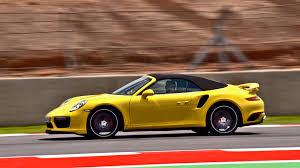 Porsche 911 Turbo - 2016 porsche 911 turbo cabriolet 991 ii on racetrack youtube