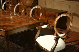 Style Dining Chairs Louis Xvi Style American Made Leg Table Neoclassical