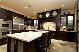 cherry cabinets with light granite countertops dark countertops with dark cabinets black slate kitchens with dark