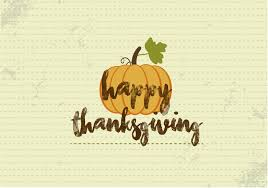 free happy thanksgiving pumpkin vector free vector