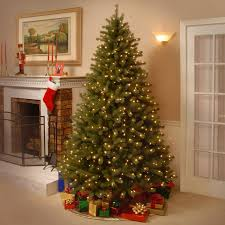national tree co lakewood 7 5 u0027 green spruce artificial christmas