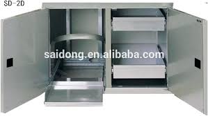 Outdoor Storage Cabinet Outdoor Kitchen Cabinets Stainless Steel Stainless Steel Outdoor
