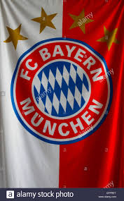 Flag Capital The Flag Of The Football Club Of Fc Bayern Munchen In The City Of
