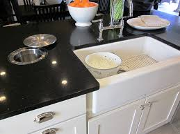 Kohler Kitchen Cabinets White Apron Sink Stunning Kitchen With Copper Farm Sink And