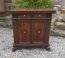 walnut antique cabinets u0026 cupboards ebay