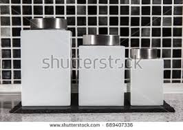 black and white kitchen canisters kitchen canisters stock images royalty free images vectors