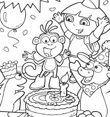 dora coloring pages for toddlers dora printable coloring pages child coloring pages free kids