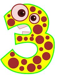 3 by 3 Edited Animal Number Clip Art At Clker Com Vector Clip Art