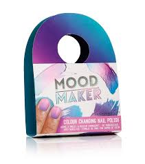 Purple Mood Mood Maker Colour Changing Nail Polish Purple Amazon Co Uk Beauty