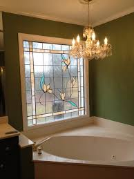 Bathroom Window Ideas For Privacy by Best Cool Stained Glass Bathroom Window Decor F2a 1951