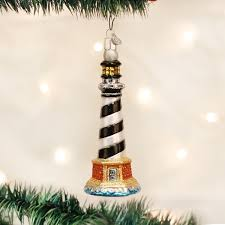 world cape hatteras lighthouse glass