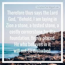 scripture bible verses cornerstone