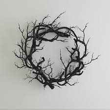 black branch wreath kid friendly stylish halloween decor
