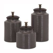 black kitchen canister sets gibson ceramic kitchen canister sets ebay