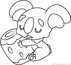 7820 jangmo cartoon coloring yescoloring hoopa