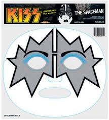 Halloween Costumes Kiss Kiss Halloween Costume Temporary Decal Ace Frehley