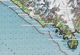 Mccarthy Alaska Map by The Roaming Dials Yakutat To Glacier Bay Lost Coast South