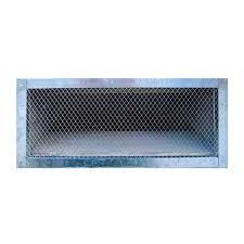 construction metals 14 in x 6 in galvanized steel reversible