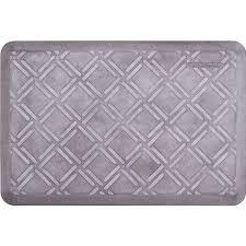 Anti Fatigue Kitchen Floor Mats by Estates Shades Of White Moire Anti Fatigue Mats 3 X 2 Feet