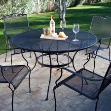 Wrought Iron Patio Dining Set 5 Wrought Iron Patio Furniture Dining Set Seats 4