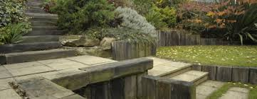 Railway Sleepers Garden Ideas Garden Steps Made From Railway Sleepers Landscaping With The