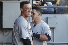 Aaron Judge Breaks Joe Dimaggio S Yankees Rookie Home Run Record - watch aaron judge smashes joe dimaggio s 81 year old mark for