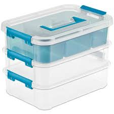 Plastic Wreath Storage Containers Plastic Storage Boxes And Storage Totes Organize It