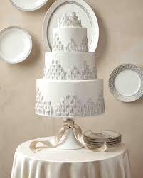 silver wedding cakes wedding cakes inspired by china patterns martha stewart weddings