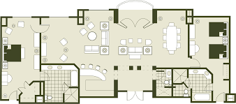 rosen shingle creek floor plan luxury orlando meeting convention hotel grande suite