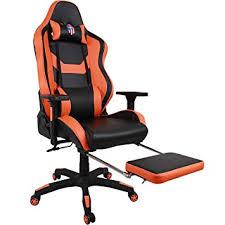 chaise bureau gaming kinsal gaming chair chaise de bureau à dossier haut design