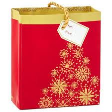 sparkly christmas tree gift card holder mini bag 4 5