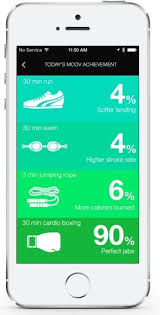 fitness tracker app for android moov isn t just a fitness tracker it s a fitness coach android