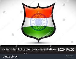 The Indian Flag Tricolor Indian National Flag Stock Vektorgrafik 91790501