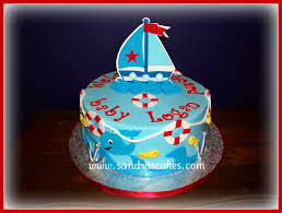 nautical baby shower cakes nautical themed baby shower cake