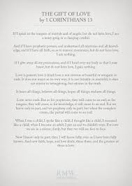 1 corinthians 13 wedding wedding readings for your wedding ceremony