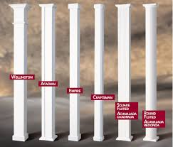 Decorative Column Wraps Windows U0026 Columns Brehms Exterior Specialist