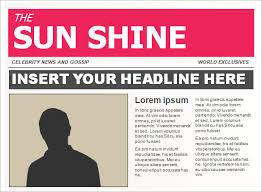 15 powerpoint newspaper templates u2013 free sample example format