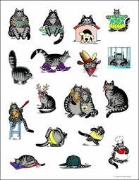 kliban s catstickers sticker book