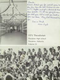theodore high school yearbook explore 1974 theodore high school yearbook theodore al classmates